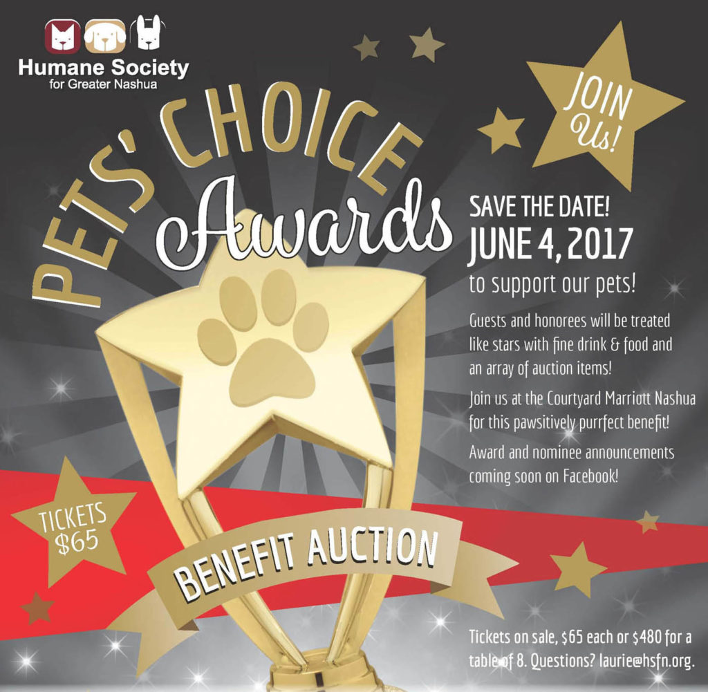 Graphic image for Pets Choice Awards